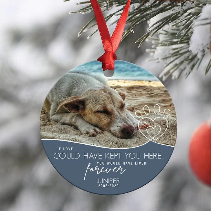 Personalised Dog Memorial Ornament