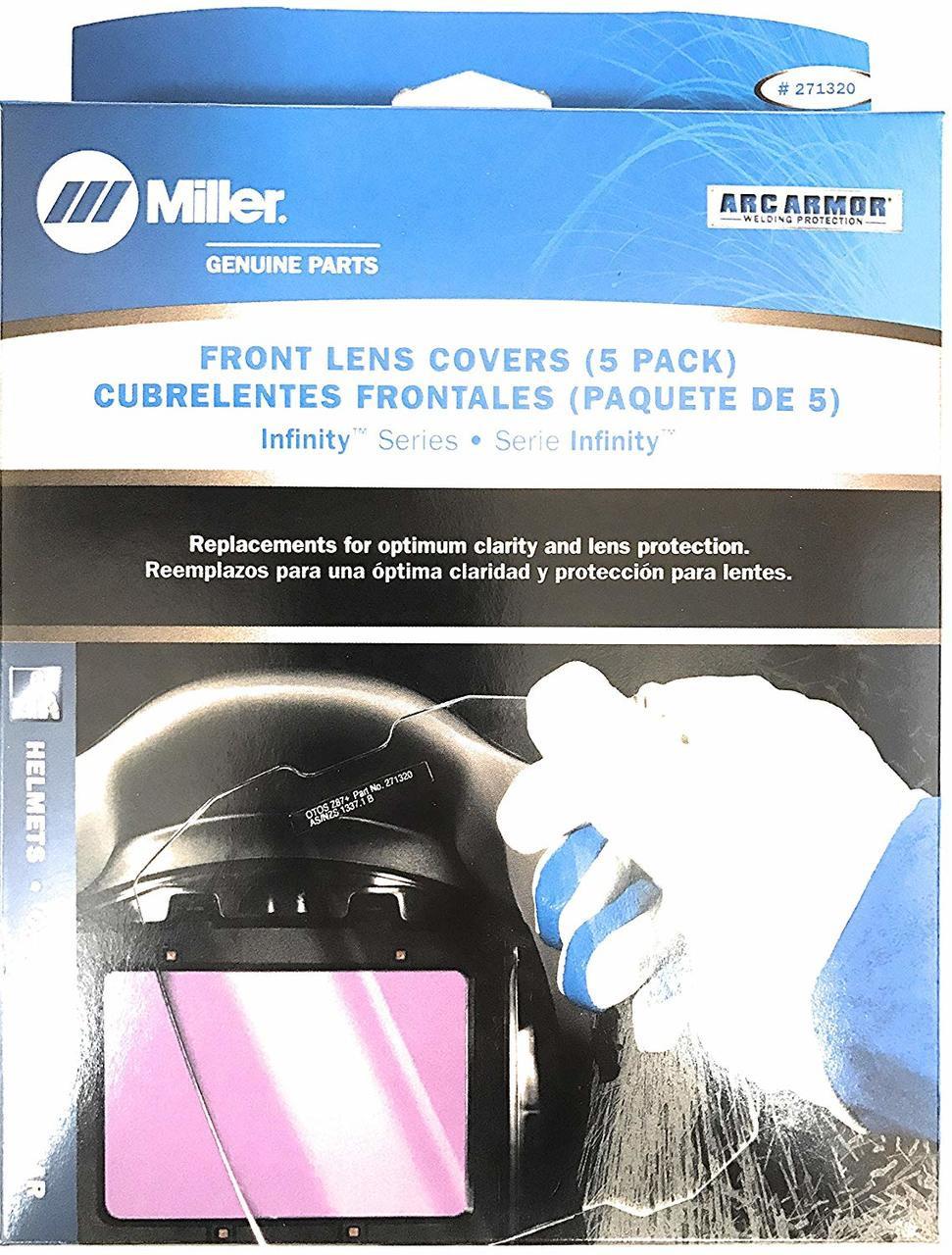 Miller 216326 Welding Helmet Front Lens Cover