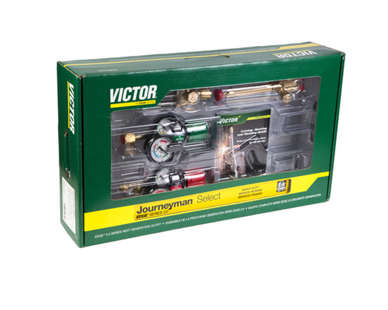Victor 0384-2081 Journeyman Select Edge 2 0 540/510, 90° Plus Outfit  (Acetylene)