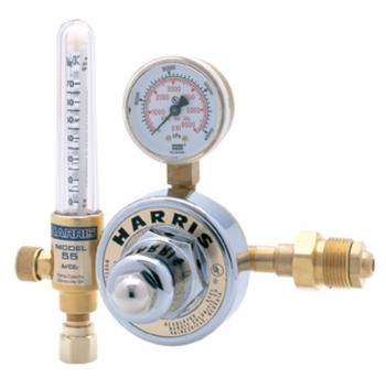 Harris® Model 2555-Ar70-680 Heavy Duty Argon And Carbon Dioxide Flowmeter, CGA-680