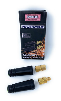 Powerweld CCD5070 Cable Connector - One Set