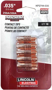 Lincoln Electric Magnum Pro Contact Tips 0.35 (10PK)