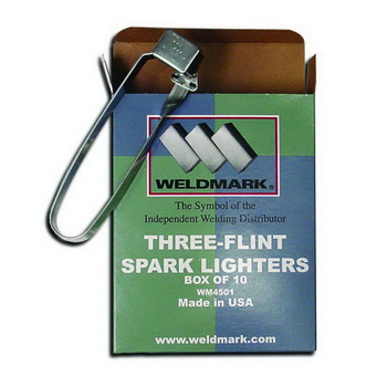 WELDMARK Three-Flint Spark Lighters WM4501 - 10PK