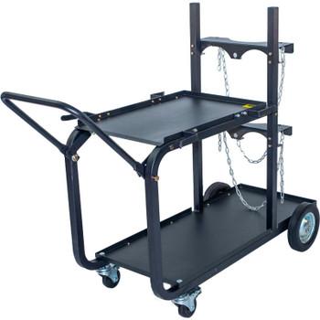 Metal Mac UWC4 - Heavy Duty Single/Dual Bottle Welding Cart