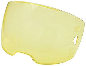 ESAB 0700000803 Amber Front Cover Lens for Sentinel A50 Helmet (5PK)