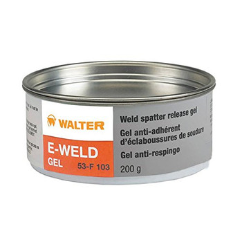 Walter 53F103 E-Weld Gel Weld Spatter Release Solution, 200gram Gel