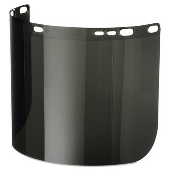 "Jackson 3002810 KC 29080 Polycarbonate Face Shield IR 5.0 Dark Green, 8"" x 15.5"" x .06"" Unbound [Price per Each]"