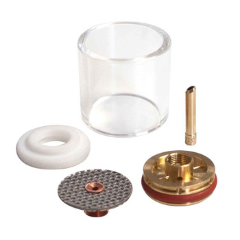 "CK D2GS332LD Gas Saver Kit for 3/32"" Large Diametr w/Glass Cup"