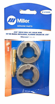 "Miller Genuine .035"" Drive Roll Kit for Millermatic 212, 252 - Qty 1 - 079595"
