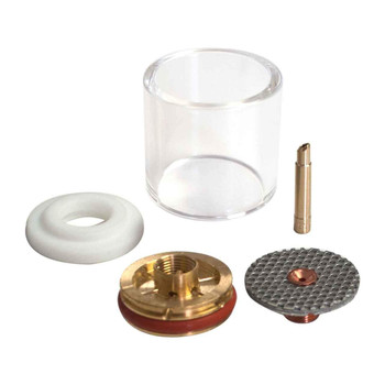 "CK D2GS116LD Gas Saver Kit for 1/16"" Large Diameter w/Glass Cup"