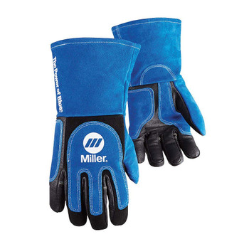 Welding Gloves, 3D, XL, Wing, Blueblack, PR …