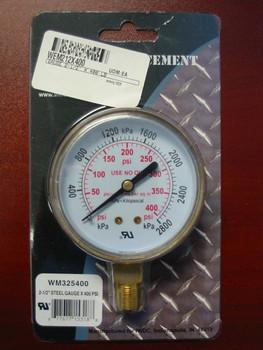 "Replacement Pressure Gauge - 400Psi - 2.5"" Weldmark Mig Nozzles and Contact Tips"