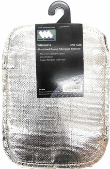894019 Weldmark Aluminized Coated Fiberglass Backpad