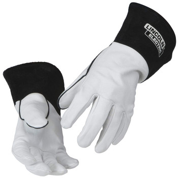 Lincoln Electric Grain Leather TIG Welding Gloves | Comfortable | Lightweight | K2981 - Multiple Sizes Available (M -XL) |