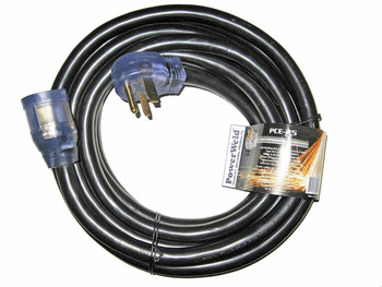 PowerWeld PCE-25 8/3 Type STW 250 V Welder Power Cable Extension