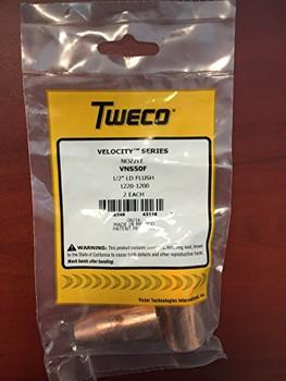 Tweco Velocity MIG Nozzle VNS-50F  2PK