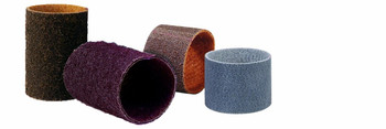 "Walter Blendex Linear Finishing Drum Abrasive Belt, 3-1/2"" Diameter x 11-5/8"" Length x 5-3/8"" Width, Grit Medium, Maroon"