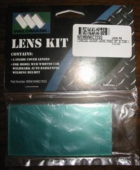 Weldmark Inside Lenses for Black, Red Flames & Blue Flames Welding Helmets