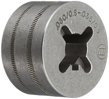 Hobart 202926 0.030-0.035 and 0.045 Drive Roll VK Groove for Select Handler and Ironman Series Welders