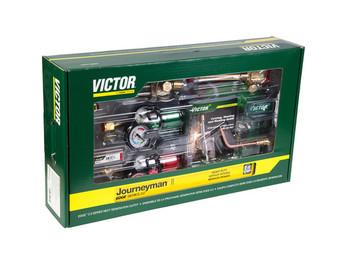Victor 0384-2111 Journeyman II AF Edge 2.0 540/510LP, 90° Plus Outfit  (Acetylene)