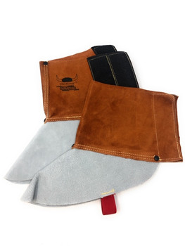"Weldmate Leather Spats, Lava Brown (6"")  TTU390"