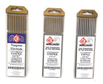 Tungsten 1.5% Lanthanated (10pk)