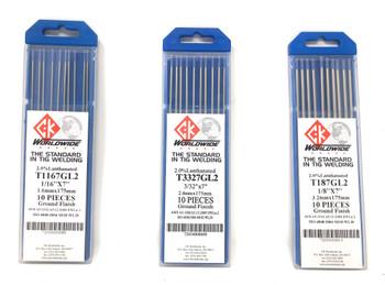 Tungsten 2% Lanthanated (10pk)