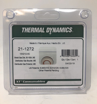 Thermal Dynamics 21-1272 Shield Gas Distributor, XT-300, Mild Steel Swirl
