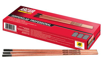 "Arcair Gouging Rod 5/16"" X 12"" Copperclad Professional Pointed DC Carbons 50BOX"