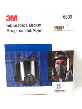 3M™ Full Facepiece Reusable Respirator Mask (M or L)