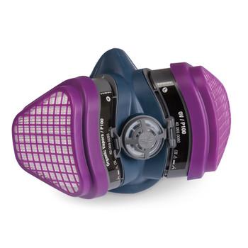 Miller LPR-100™ Half Mask Respirator, Organic Vapor, M/L