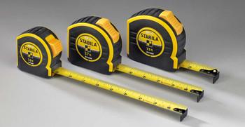 Stabila 30427 Tape Measure Type BM40  27 ft / 8 m (imperial metric)