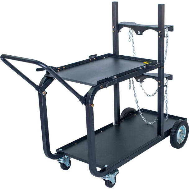 Metal Mac UWC4 - Heavy Duty Single/Dual Bottle Welding Cart