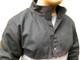 Welding Half Jacket  - Black w/Red Flames - Various Sizes