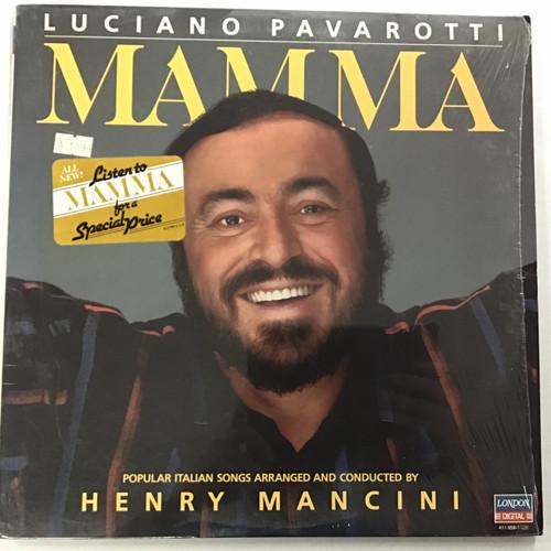 Luciano Pavarotti - Mamma vinyl record LP