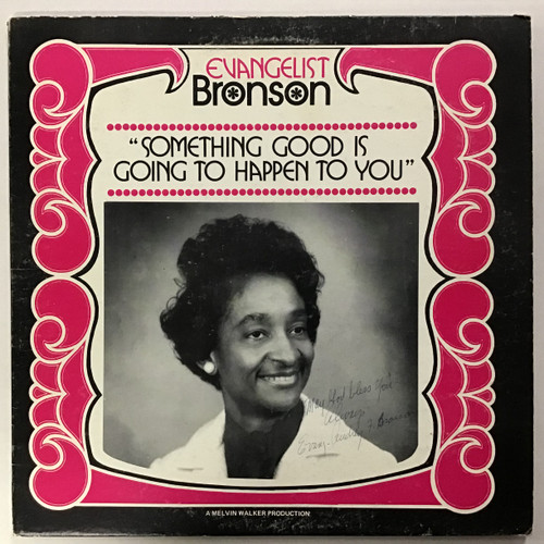 Audrey Bronson and Becky Carlton - Something Good Is Going To Happen to you - AUTOGRAPHED Vinyl Record LP