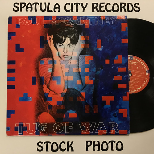 Paul McCartney - Tug of War -  Vinyl Record LP