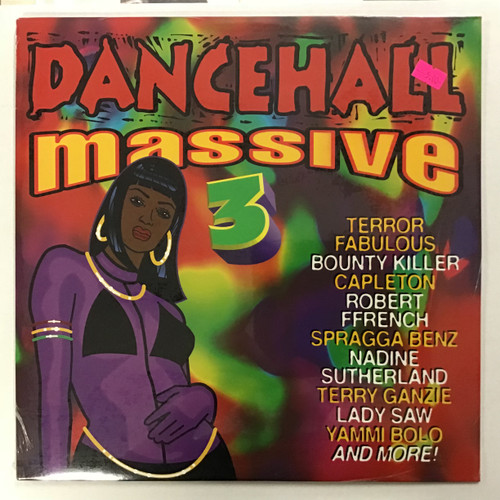 Dancehall Massive 3 Compilation - SEALED vinyl record LP