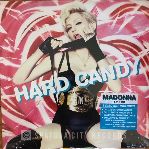 madonna 2008 hard candy Vinyl + CD dance music
