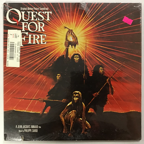 Quest for Fire Soundtrack - SEALED vinyl record LP