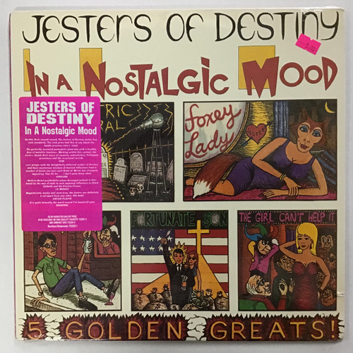 Jesters of Destiny - In a Nostalgic Mood SEALED vinyl record LP