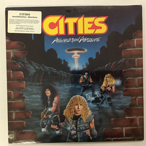 Cities - Annihilation Absolute Sealed vinyl record LP