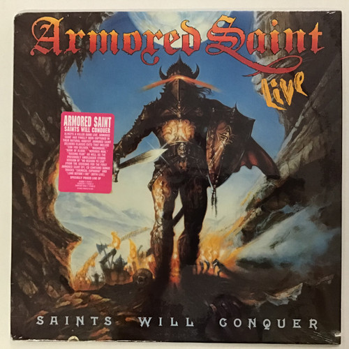 Armored Saint - Saints Will Conquer - Sealed vinyl record lp
