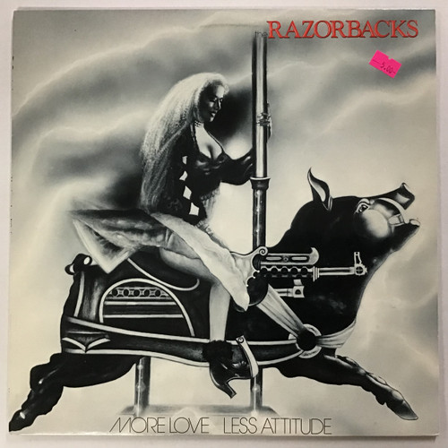 Razorbacks - More Love Less Attitude  vinyl record LP