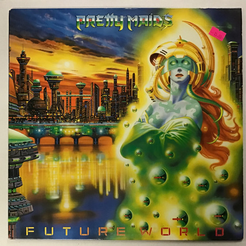 Pretty Maids - Future World vinyl record LP