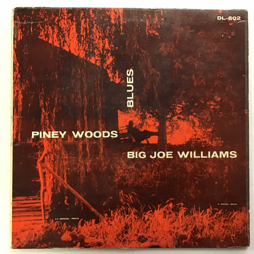 Big Joe Williams - Piney Woods Blues - Vinyl record LP