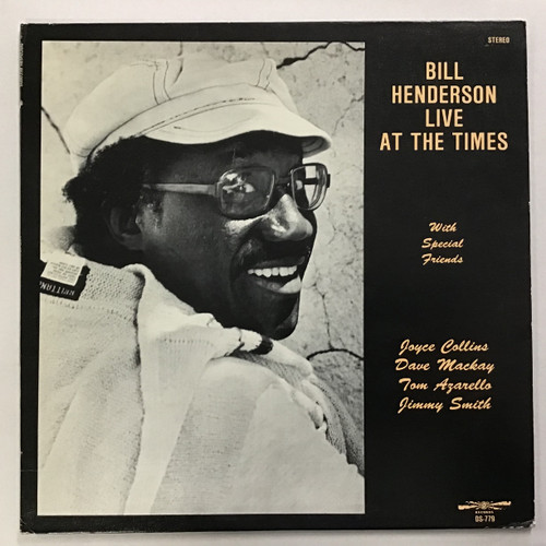 BIll Henderson - live at the Times Vinyl Record LP