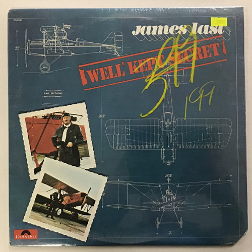 James Last - We'll Kept Secret - SEALED - vinyl record LP