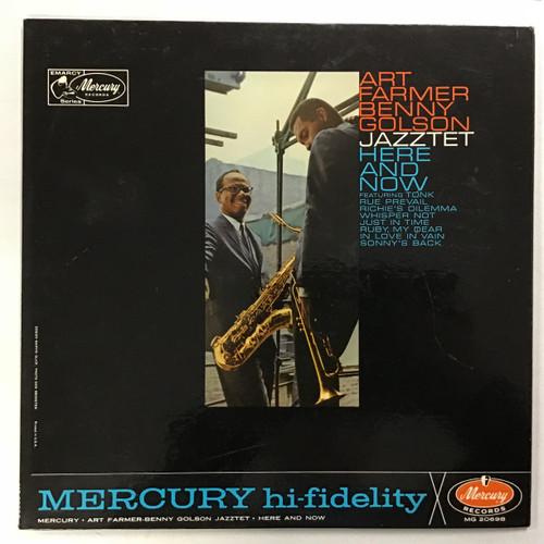 Art Farmer Benny Golson Jazztet - Here and Now - MONO - vinyl record LP