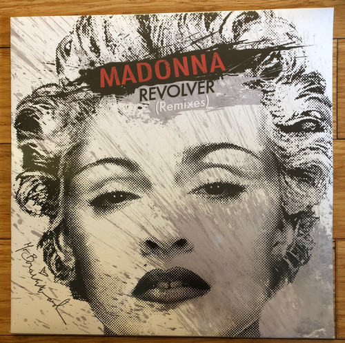 Madonna - Revolver remixes  SEALED PROMO DOUBLE vinyl record lp